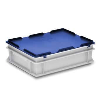 Scharnierdeckel blau zu Kiste RAKO 400 x 300 mm