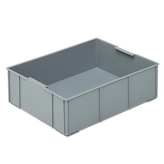 Einsatzbehälter quer zu RAKO 1/2 grau 355 x 277 x 99 mm