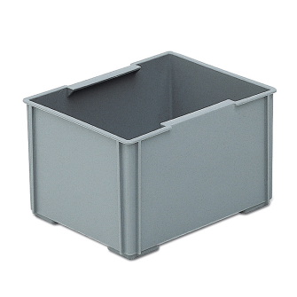 Einsatzbehälter zu RAKO 1/8 grau 177 x 139 x 99 mm