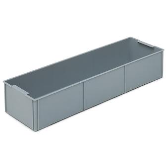 Einsatzbehälter längs zu RAKO 1/2 grau 555 x 177 x 99 mm