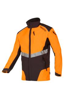 Arbeitsjacke W-Air Innovation, orange/schwarz, Gr. M