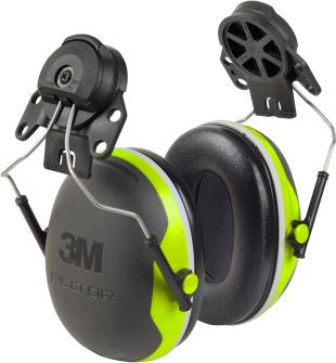 Gehörschutz Peltor XSerie Helmbefestigung  X4P3 neon