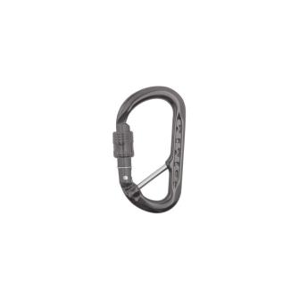 Materialkarabiner XSRE Lock CB matt grau