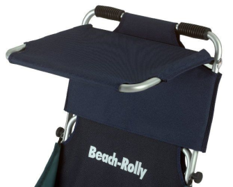 Beach-Rolly Sonnenschutzdach blau