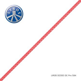 Wurfschnur D-Pro 50m rot