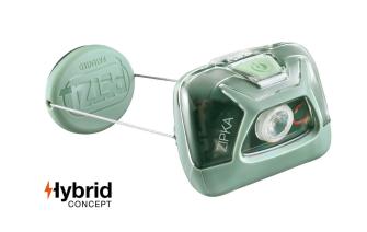 Stirnlampe ZIPKA grün