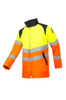 Arbeitsjacke HV, orange/gelb, Gr. 2XL