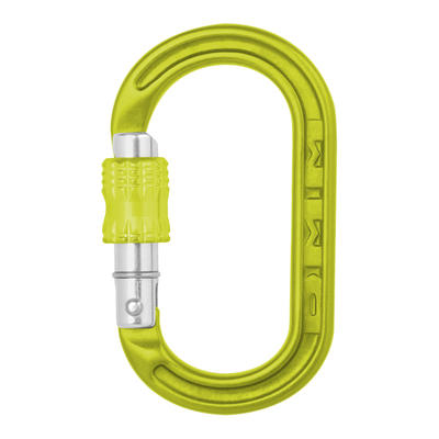 Materialkarabiner XSRE Lock lime grün