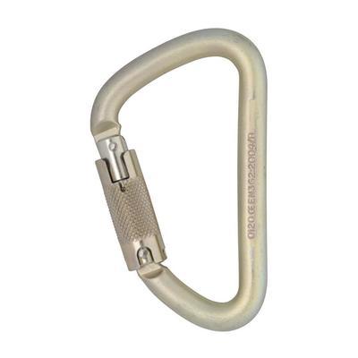 Karabiner Klettersteig Steel Locksafe