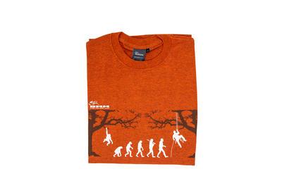 T-shirt Arb-evolution orange, Gr. M