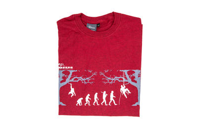 T-shirt Arb-evolution rot, Gr. M