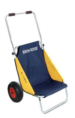 Beach-Rolly Transportkarre blau-gelb