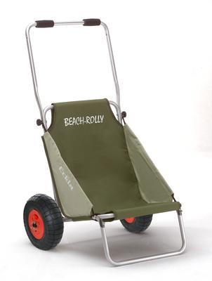 Beach-Rolly Transportkarre oliv-beige