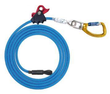 Stahlhalteseil AZUR mit Twister und Seilklemme 4m