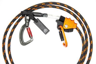 Halteseil mit Stahlkern Edger mit Twister triple und Grip 3.5m