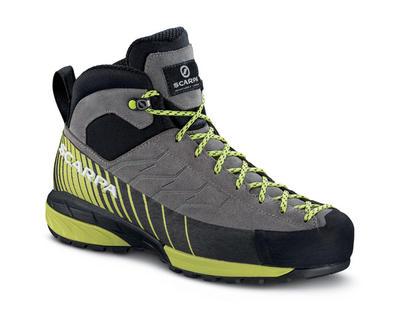 Schuh Mescalitao Mid GTX WMN, midgray/light green, Gr. 38