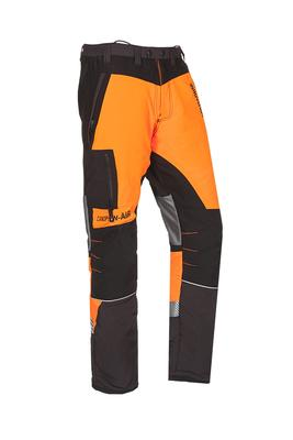 Schnittschutzhose Canopy W-AIR, grau/orange, Regular, Gr. M
