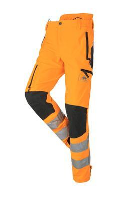 Kletterhose Progress HV, orange-schwarz, Regular, Gr. L